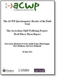 ACWP Database | The Australian Child Wellbeing Project